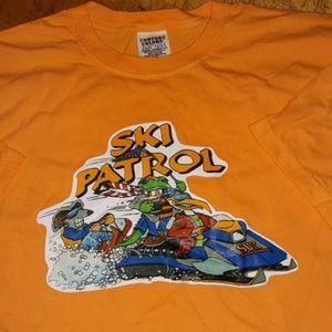 Ski Patrol Graphic tee comfort colors 2xl